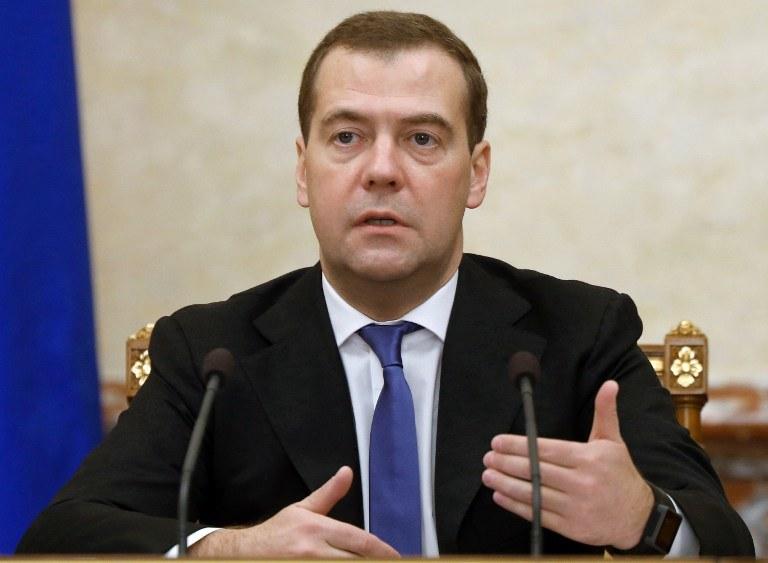 Premier Rosji Dmitrij Miedwiediew /AFP