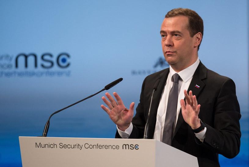 Premier Rosji Dmitrij Miedwiediew /PAP/EPA
