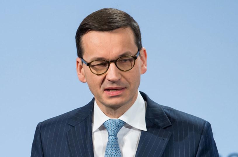 Premier RP Mateusz Morawiecki /MSC / MUELLER HANDOUT  /PAP/EPA