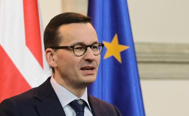 Premier RP Mateusz Morawiecki /PAP