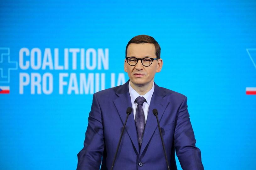 Premier RP Mateusz Morawiecki /PAP/Wojciech Olkuśnik /PAP