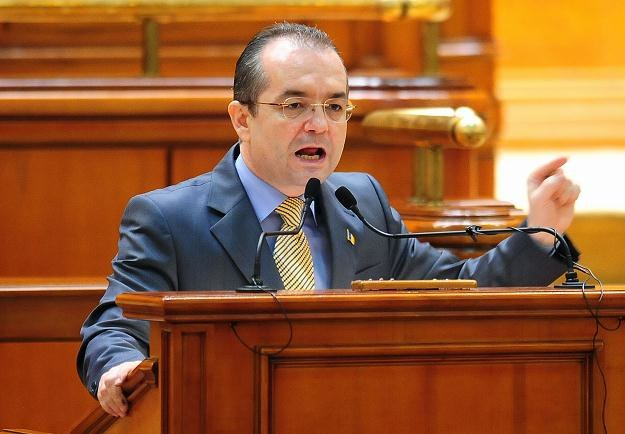 Premier Rumunii Emil Boc /AFP