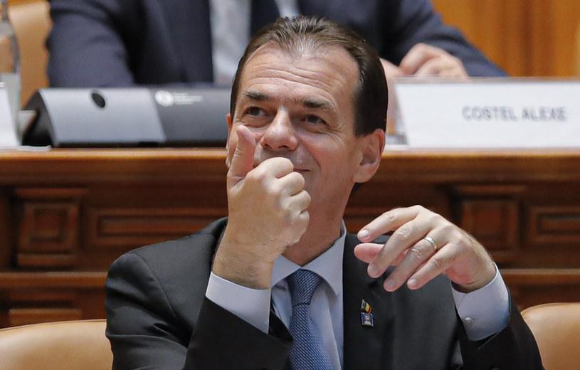 Premier Rumunii Ludovic Orban /AP Photo/Vadim Ghirda /East News