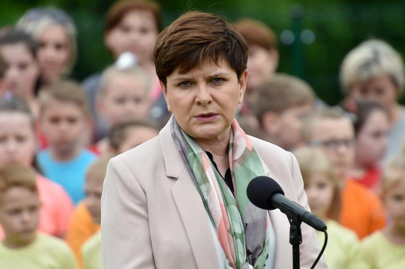 Premier rządu Beata Szydło /Jacek Bednarczyk /PAP