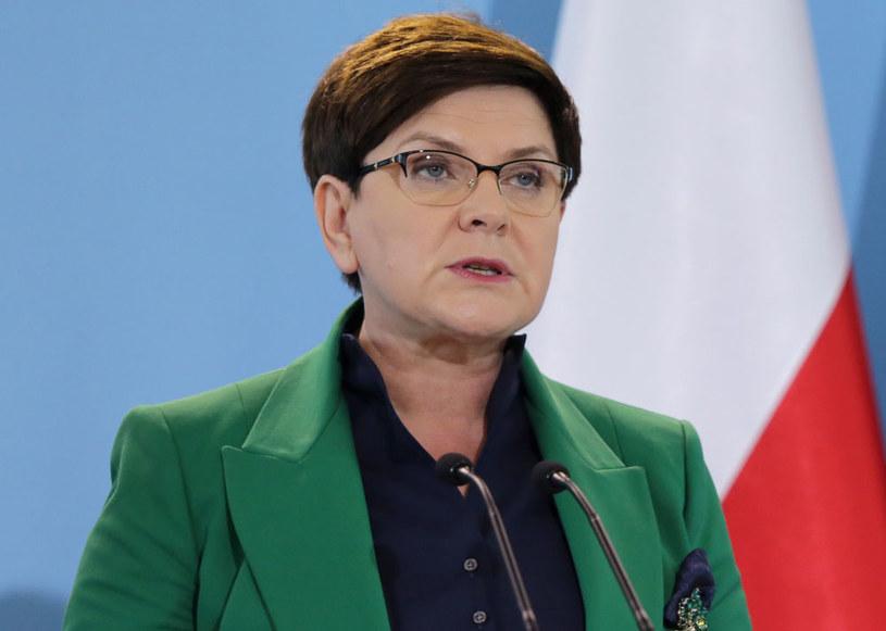 Premier rządu Beata Szydło /Tomasz Gzell /PAP