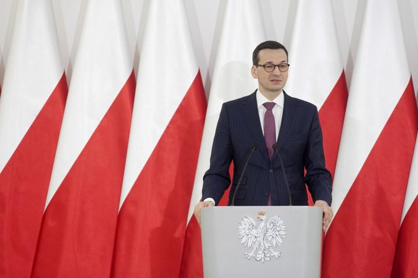 Premier rządu Mateusz Morawiecki /Paweł Czarny /PAP
