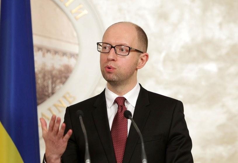 Premier rządu ukraińskiego Arsenij Jaceniuk /Stanisław Kowalczuk /East News