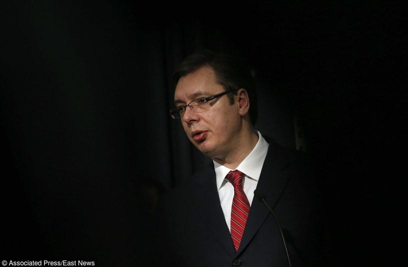 Premier Serbii Aleksandar Vuczić /AP