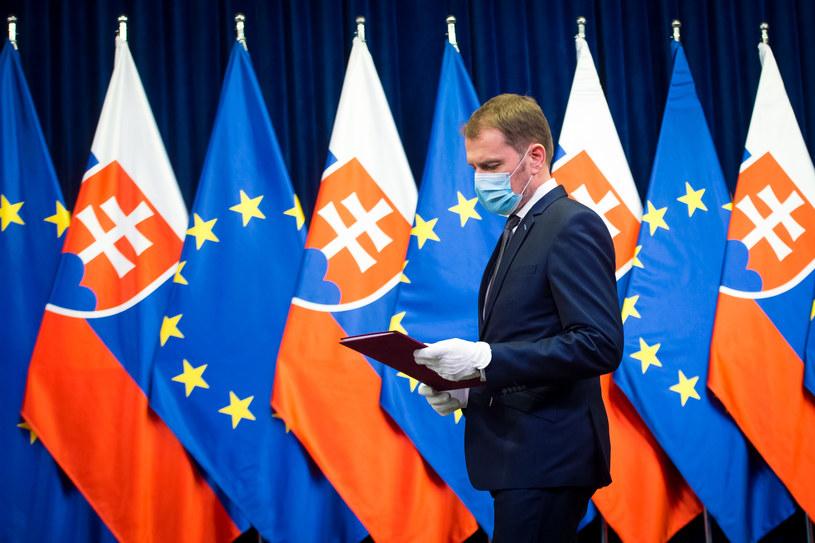 Premier Słowacji Igor Matovic /AFP