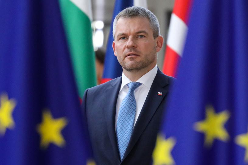 Premier Słowacji Peter Pellegrini /LUDOVIC MARIN/AFP POOL /AFP