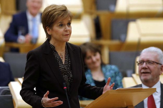 Premier Szkocji Nicola Sturgeon / Scottish Parliament HANDOUT /PAP/EPA
