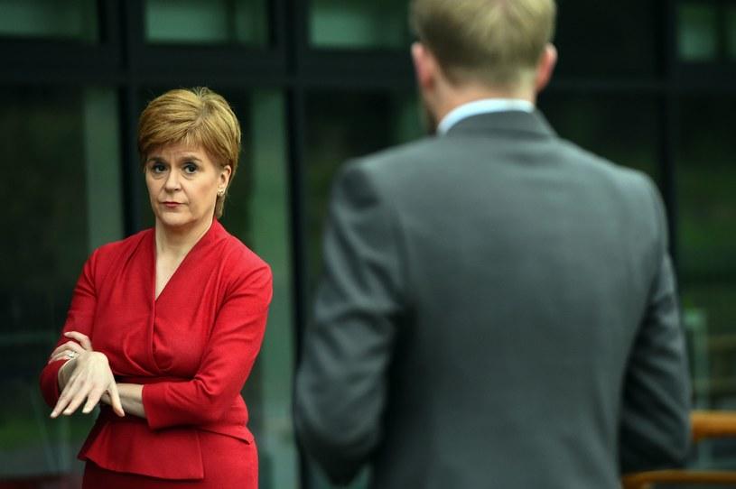Premier Szkocji Nicola Sturgeon /AFP
