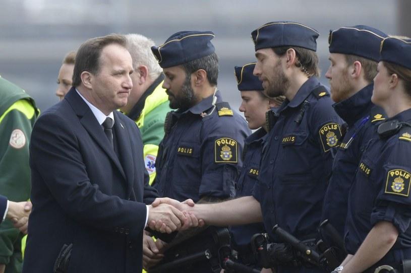 Premier Szwecji Stefan Loefven /AFP