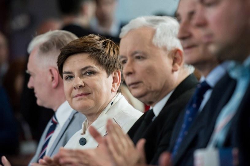 Premier Szydło na kongresie PiS /Mariusz Gaczyński /East News