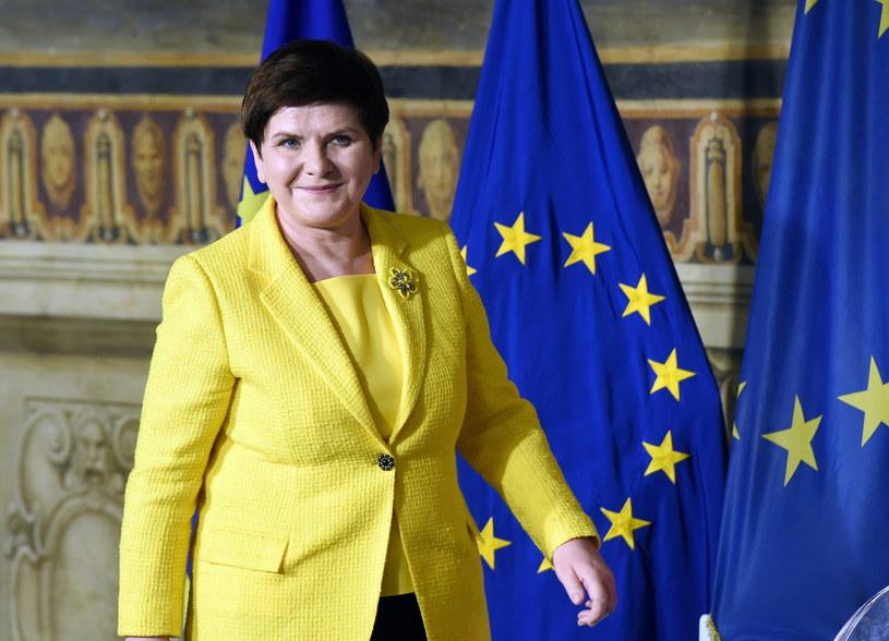 Premier Szydło na szczycie w Rzymie /Radek Pietruszka /PAP