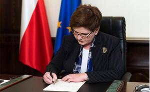 Premier Szydło odpowiada na list 9-letniej Julii