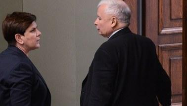 Premier Szydło przedstawiła prezesowi PiS plan rekonstrukcji rządu