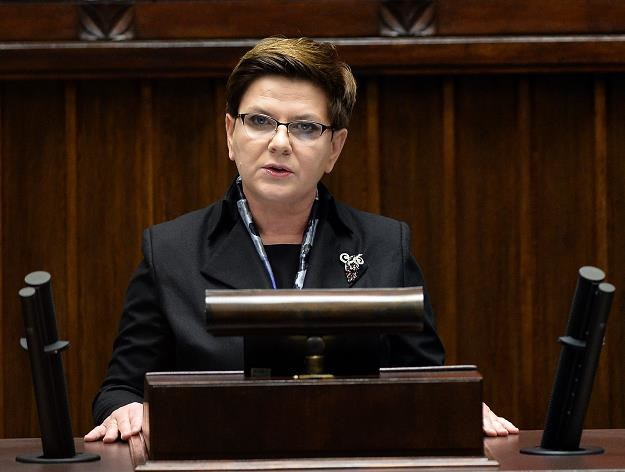 """Premier Szydło, """"z programem mieszkanie plus wiążemy ogromne nadzieje"""" /AFP"""