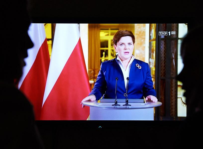 Premier Szydło /Adam Warżawa  (PAP) /PAP