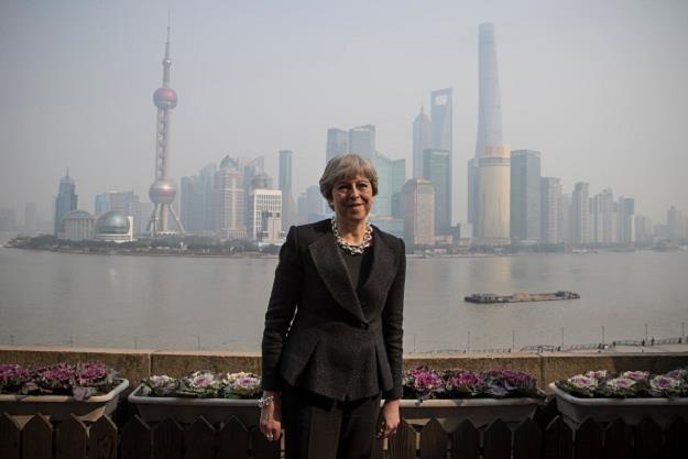 Premier Theresa May w Szanghaju. Fot. Dan Kitwood /Getty Images/Flash Press Media