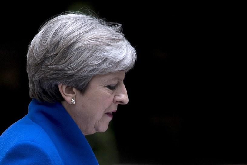 Premier Theresa May wymieniła dwóch wiceministrów ds. brexitu /WILL OLIVER  /PAP/EPA