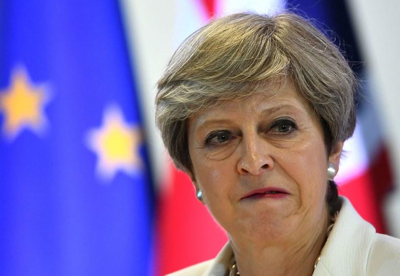 Premier Theresa May /AFP
