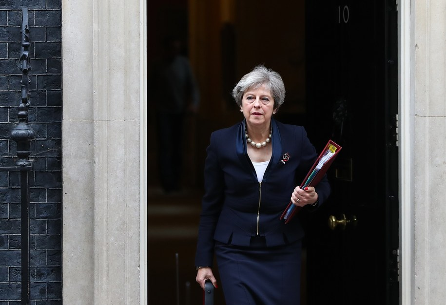 Premier Theresa May /NEIL HALL /PAP/EPA