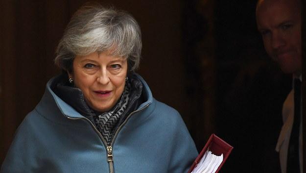 Premier Theresa May /ANDY RAIN /PAP/EPA