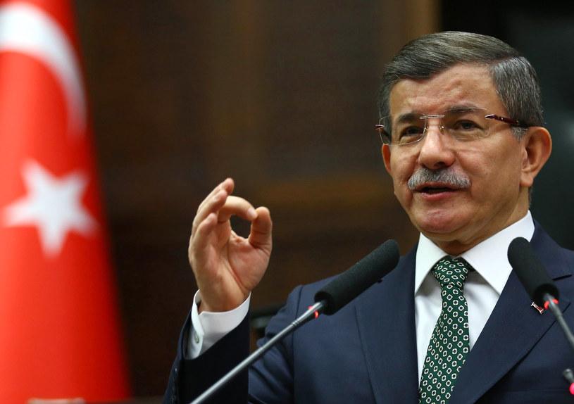 Premier Turcji Ahmet Davutoglu /AFP