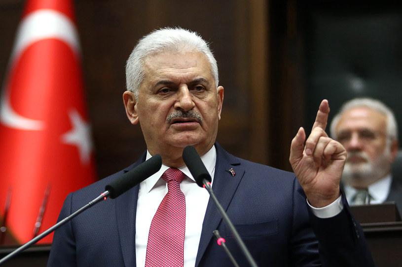 Premier Turcji Binali Yildirim ostrzega Holandię /ADEM ALTAN /AFP