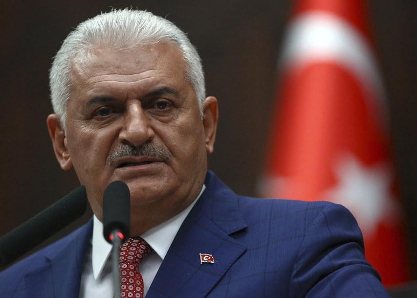 Premier Turcji Binali Yildirim /ADEM ALTAN /AFP