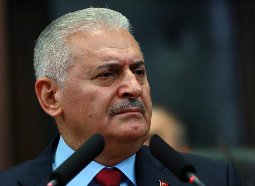 premier Turcji Binali Yıldırım /ADEM ALTAN /AFP