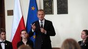 Premier Tusk do licealistów: Nie popadajcie w negację