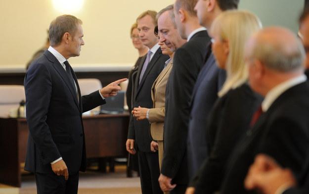 Premier Tusk pytany na początku września o rekonstrukcję rządu, mówił, że kwestia ta pojawi się w okolicach półmetka obecnej kadencji /Bartłomiej Zborowski /PAP