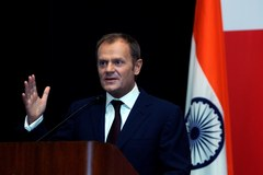 Premier Tusk w Indiach