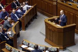 Premier Ukrainy Arsenij Jaceniuk podał się do dymisji