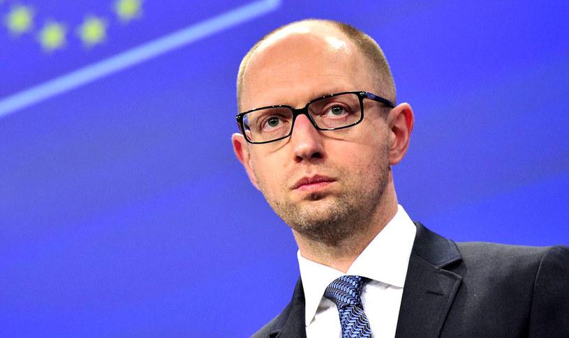 Premier Ukrainy Arsenij Jaceniuk. /AFP