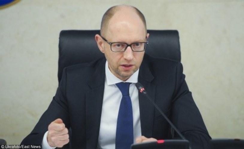 Premier Ukrainy Arsenij Jaceniuk /Ukrafoto /East News