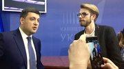 Premier Ukrainy: Chciałbym się spotkać z premierem Morawieckim