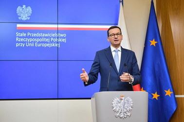 Premier w Brukseli: 770 mld zł dla Polski. To bardzo dobry budżet
