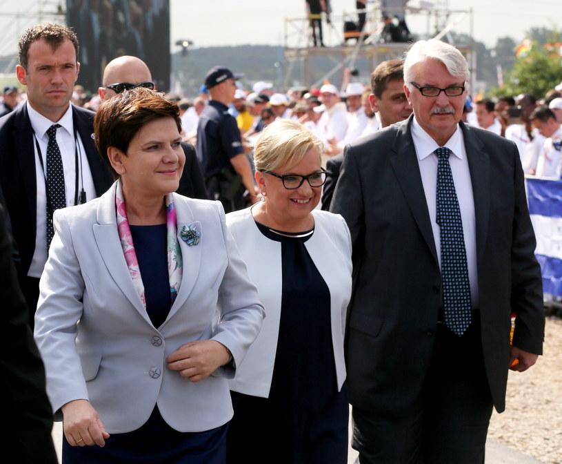 Premier w Brzegach /Paweł Supernak /PAP