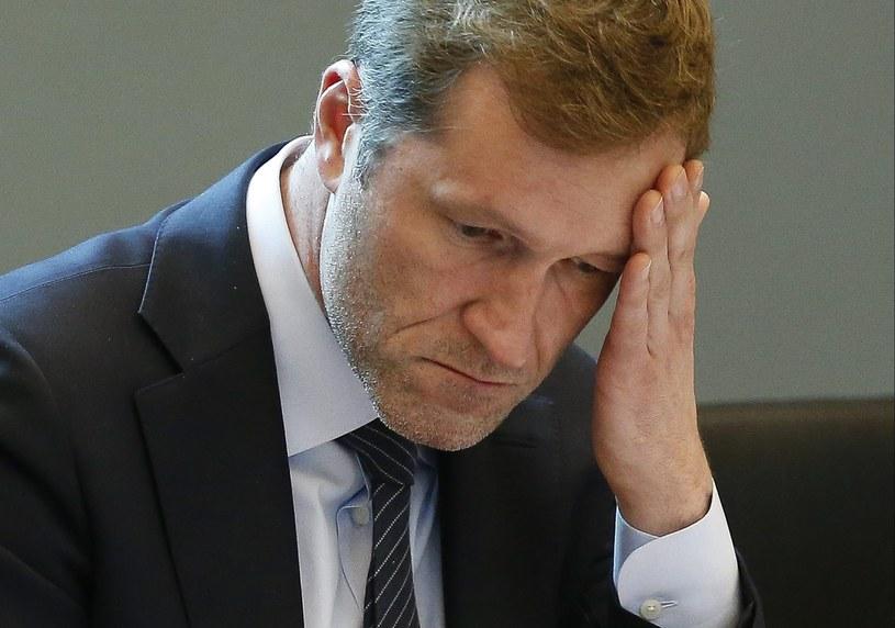 Premier Walonii Paul Magnette /JULIEN WARNAND /PAP/EPA