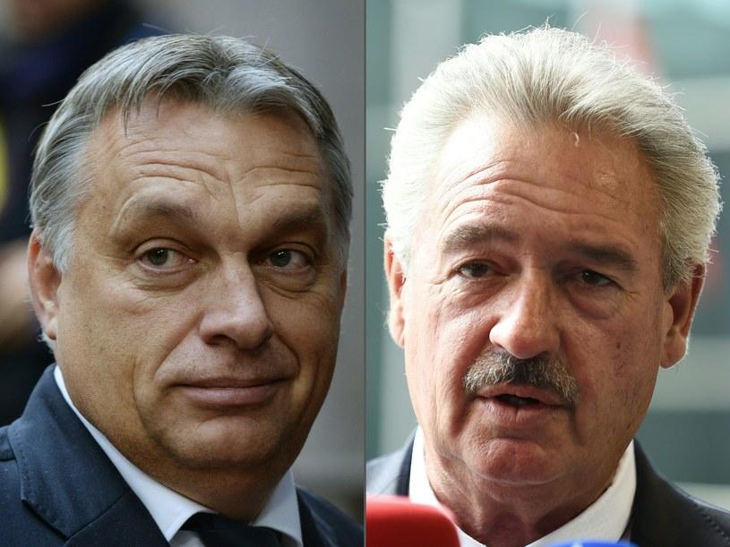 Premier Węgier i premier Luksemburga /THIERRY CHARLIER/JOHN THYS /AFP