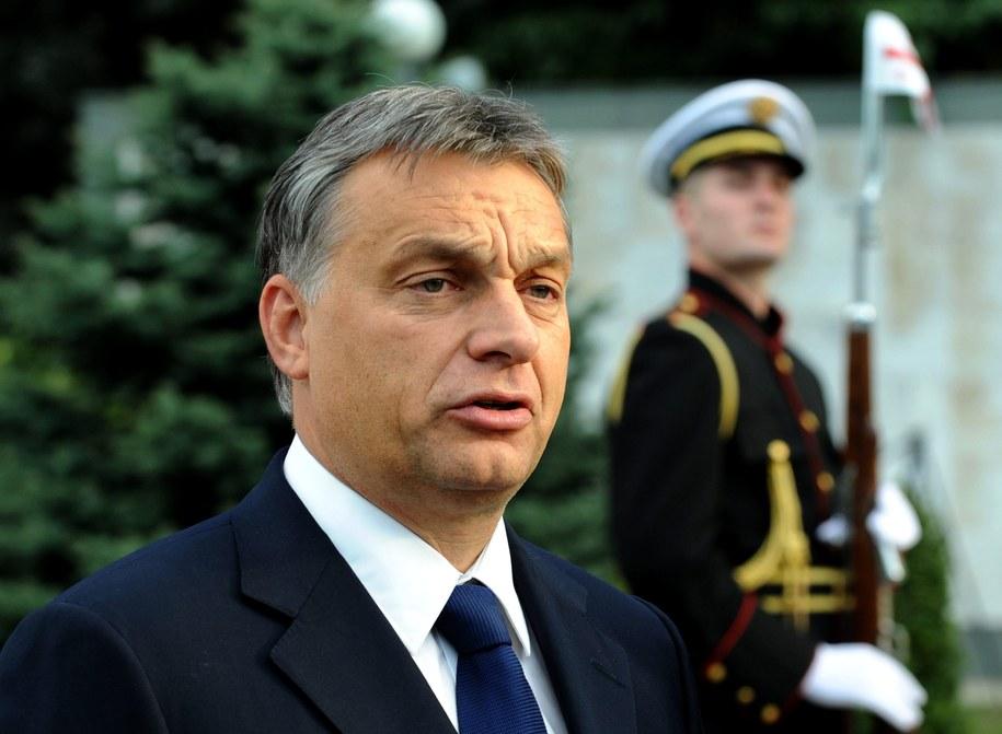 Premier Węgier Victor Orban / VANO SHLAMOV / POOL    /PAP/EPA