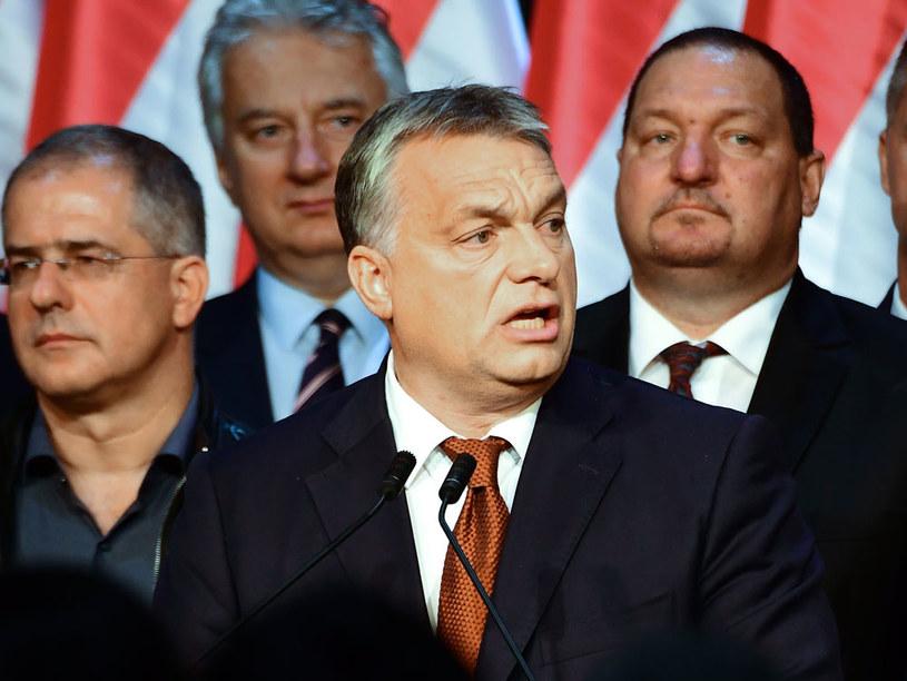 Premier Węgier Viktor Orban po referendum na Węgrzech /AFP