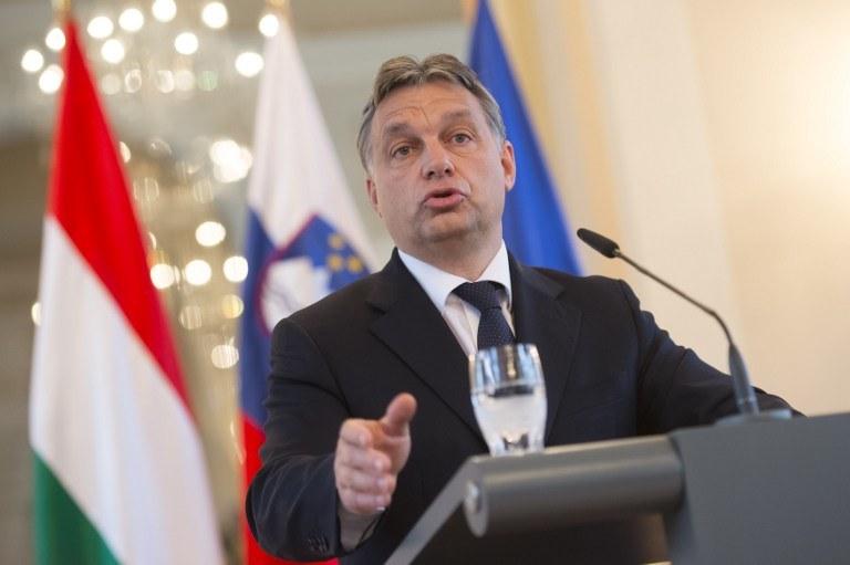 Premier Węgier Viktor Orban /Jure Makovec / AFP /AFP