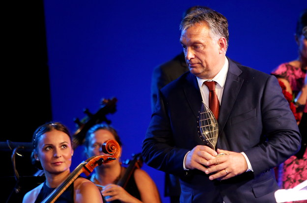 Premier Węgier Viktor Orban /PAP/Grzegorz Momot /PAP