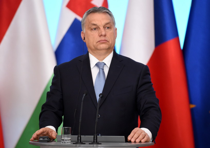 Premier Węgier Viktor Orban /Radek Pietruszka /PAP