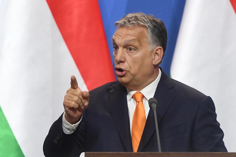 Premier Węgier Viktor Orban /Attila Kisbenedek /AFP