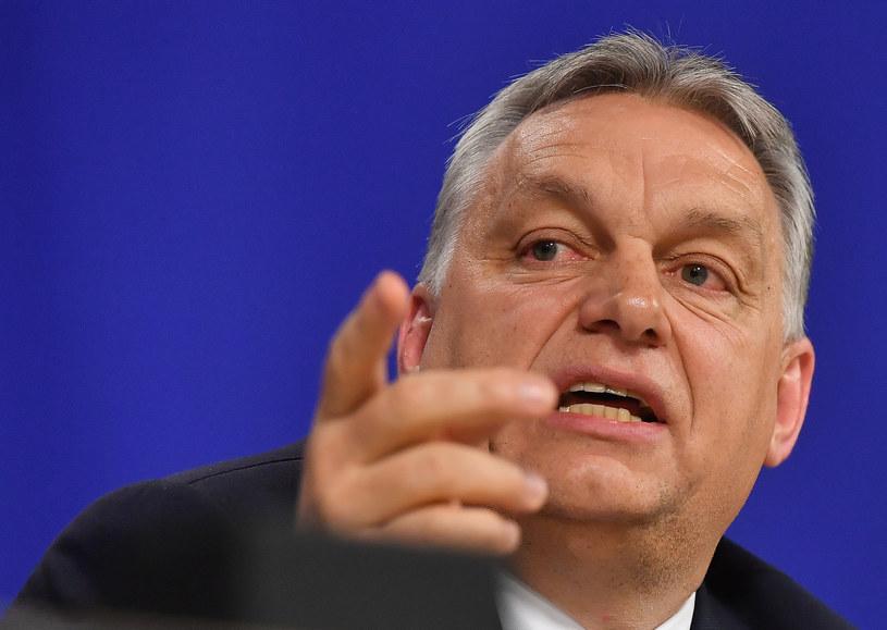 Premier Węgier Viktor Orban /EMMANUEL DUNAND /AFP